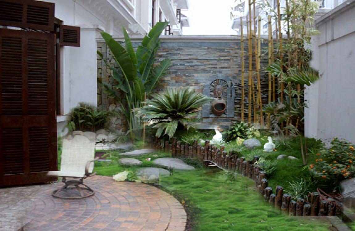 Những mẫu thiết kế tiểu cảnh trong nhà góc sân vườn